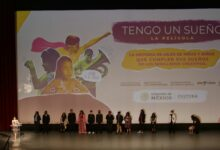 """""""Tengo un sueño"""", la película-documental que fue presentada este 20 de octubre en el Auditorio Nacional, en Ciudad de México."""